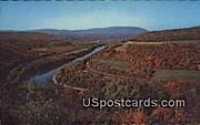 Cacapon View, Potomac Panorama - Berkeley Springs, West Virginia WV Postcard