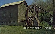 McClungs Mill - Jefferson National Forest, West Virginia WV Postcard
