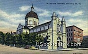 St Joseph's Cathedral - Wheeling, West Virginia WV Postcard