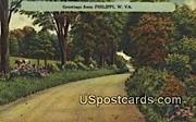 Philippi, West Virginia Postcard      ;      Philippi, WV