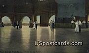 Dancing Pavilion - Rock Springs Park, West Virginia WV Postcard