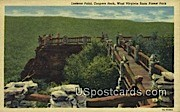 Lookout Point - West Virginia State Forest Park Postcards, West Virginia WV Postcard