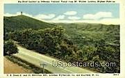 Big Bend Lookout - Jefferson National Forest, West Virginia WV Postcard