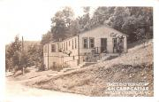 Trail's End Dormitory - Webster County, West Virginia WV Postcard
