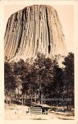 Devil's Tower - Morecroft, Wyoming WY Postcard