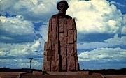 Lincoln Monument, Cheyenne - Laramie, Wyoming WY Postcard