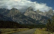 The Grand Tetons - Jackson Hole, Wyoming WY Postcard