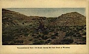 Transcontinental Race - Misc, Wyoming WY Postcard