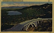 Donner Memorial Bridge & Donner Lake - Misc, Wyoming WY Postcard
