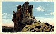 Teapot Rock - Teapot Dome, Wyoming WY Postcard