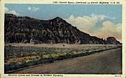 Church Buttes - Lyman, Wyoming WY Postcard