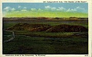 Independence Rock - Misc, Wyoming WY Postcard