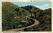 Telephone Canon - Laramie, Wyoming WY Postcard