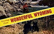 Greetings From, Bear - Misc, Wyoming WY Postcard