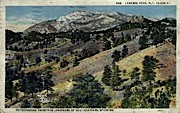 Laramie Peak - Wyoming WY Postcard
