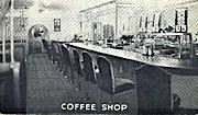 Coffee Shop - Granger, Wyoming WY Postcard