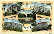 University of Wyoming - Laramie Postcard