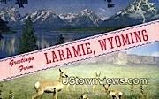 Laramie, WY, Wyoming, Postcard