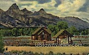 Church of the Transfiguration - Jackson Hole, Wyoming WY Postcard