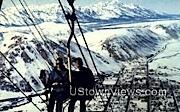 Snow King Mountain - Jackson, Wyoming WY Postcard