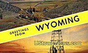 Greetings from Wyoming, Wyoming, WY - Greetings from Wyoming Postcards Postcard
