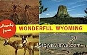 Misc, Wyoming, WY Postcard