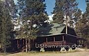 Leek's Lodge - Moran, Wyoming WY Postcard