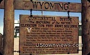 Continental Divide - Misc, Wyoming WY Postcard