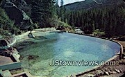 Granite Hot Springs - Jackson Hole, Wyoming WY Postcard