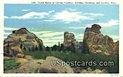 Castle Rock - Laramie, Wyoming WY Postcard