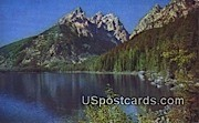 Jenny Lake, Wyoming Postcard      ;      Jenny Lake, WY