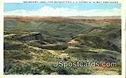Washakie Bad Lands - Araphahoe Ridge, Wyoming WY Postcard