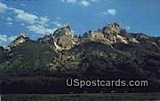 Grand Tetons, WY Postcard       ;      Grand Tetons, Wyoming