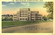 Liberal Arts Building, U of Wyoming - Laramie Postcard
