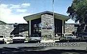 State Bath House - Thermopolis, Wyoming WY Postcard