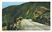 Hoo Doos - Yellowstone Park, Wyoming WY Postcard