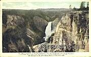 Grand Canyon - Yellowstone Park, Wyoming WY Postcard