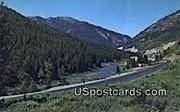Snake River Canyon, Wyoming Postcard      ;      Snake River Canyon, WY