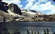 Lake Marie & Snowy Range - Laramie, Wyoming WY Postcard