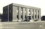 Real Photo Post Office - Riverton, Wyoming WY Postcard
