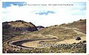 Curves, Beartooth Plateau - Cooke City Highway, Wyoming WY Postcard