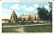 Mineral Springs Apartments, Bath House - Thermopolis, Wyoming WY Postcard