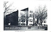 Real Photo Court House - Real Photo Worland, Wyoming WY Postcard