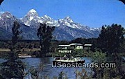 Historic Menor's Ferry - Jackson Hole, Wyoming WY Postcard