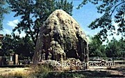 Tepee Fountain, Hot Springs State Park - Thermopolis, Wyoming WY Postcard