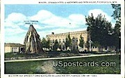 Mineral Springs Hotel Apartments - Thermopolis, Wyoming WY Postcard