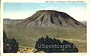Round Top Mountain - Thermopolis, Wyoming WY Postcard
