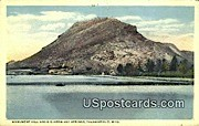 Monument Hill - Thermopolis, Wyoming WY Postcard