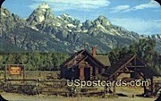 Chapel of the Transfiguration - Jackson Hole, Wyoming WY Postcard