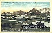 Snowy Range - Laramie, Wyoming WY Postcard